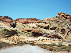 Desert Road, Arizona, USA, 15 August 2009.