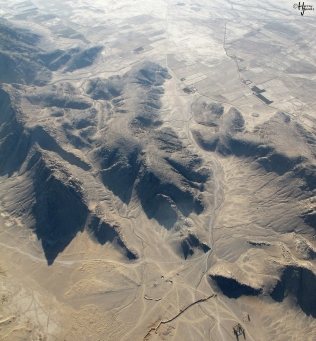 Panjwaii District from a helicopter, Kandahar, Afghanistan, 26 September 2010.