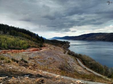 Loch Ness, Scottish Highlands, Scotland, 9 May 2013.