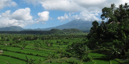 Besakih, Bali, Indonesia, 20 June 2010.