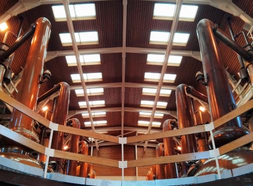 Glenmorangie Distillery, near Tain, Scotland, 10 May 2013.